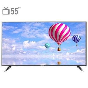تلویزیون ال ای دی دوو مدل DLE-55H1800-DPB سایز 55 اینچ