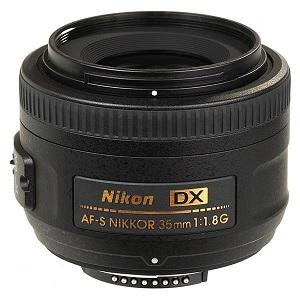 لنز نیکون مدل 35mm f-1.8G DX AF-S