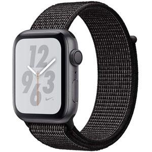ساعت هوشمند اپل واچ سری 4 مدل Nike 44mm Space Gray Aluminum Case with Black Nike Sport Loop