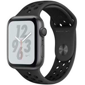 ساعت هوشمند اپل واچ 4 مدل Nike 44mm Space Gray Aluminum Case with Anthracite Black Nike Sport Band